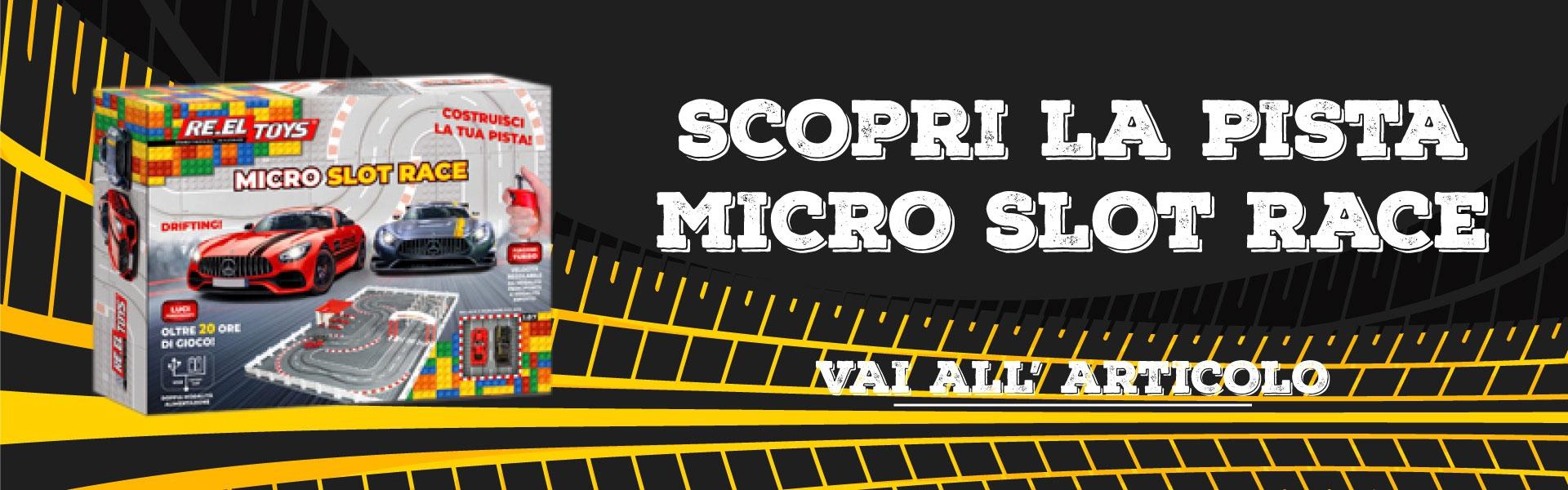 slide MICRO SLOT RACE
