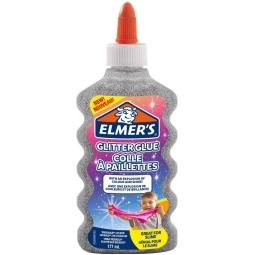 ELMER'S GLITTER 177ML ARGENTO SLIME
