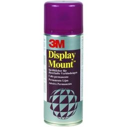 SPRAY DISPLAY MOUNT 3M 400ML PERMANENTE VIOLA