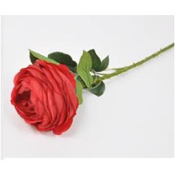 FIORE ROSA ROSSA L55CM