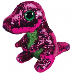 PELUCHE FLIPPABLES 28CM  SEQUIN STOMPY